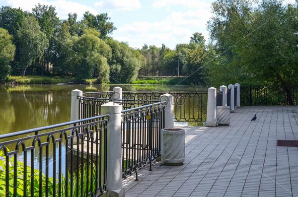 Фотография на тему Смотровая площадка на пруду