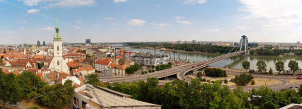 Панорама города Братислава