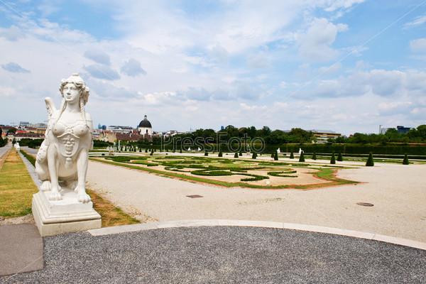 Фотография на тему Дворец Бельведер в Австрии