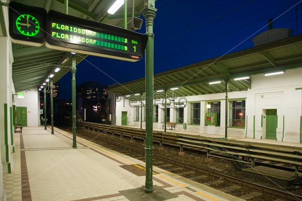 Фотография на тему Станция метро Вены