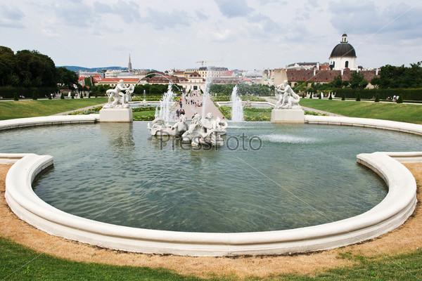Фотография на тему Дворец Бельведер