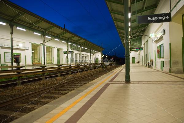 Станция метро в Вене