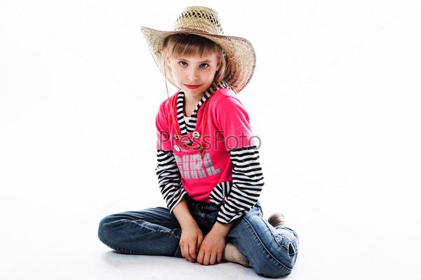 Маленькая и красивая девочка