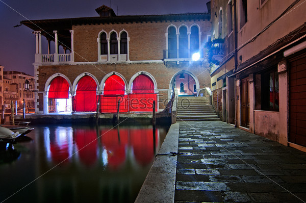 Венеция. Италия. Рыбный рынок