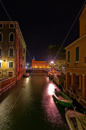 Живописный вид. Венеция, Италия