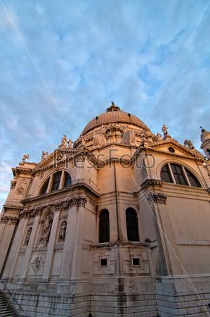 Церковь Мадонна делла Салюте в Венеции, Италия
