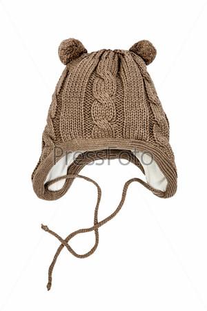 Фотография на тему Детская зимняя шапка