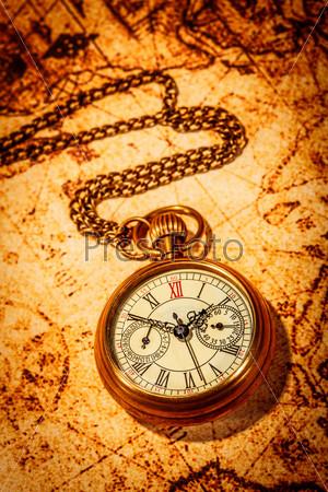 Фотография на тему Антикварные карманные часы