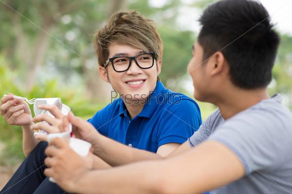Фотография на тему Беседа друзей