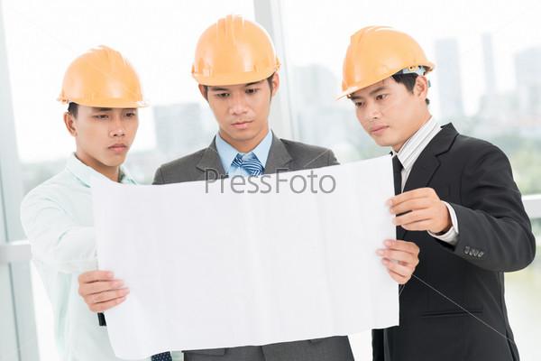 Команда  работает над проектом