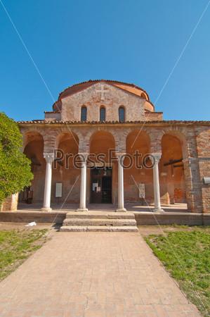 Венеция, Италия, Торчелло, собор Санта Мария Ассунта