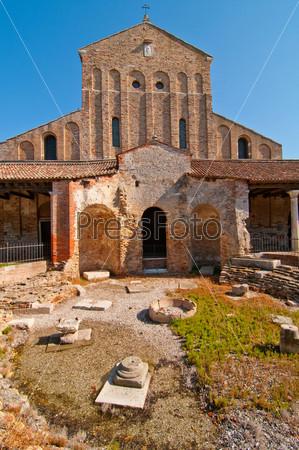 Венеция, Италия, Торчелло, церковь Санта-Фоска