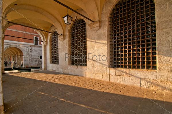 Живописный вид. Венеция. Италия