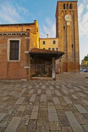 Венеция. Италия. Церковь Сан-Николо