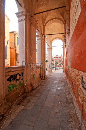 Венеция. Италия. Скуола Сан-Рокко