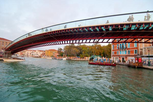 Фотография на тему Венеция. Мост Калатрава