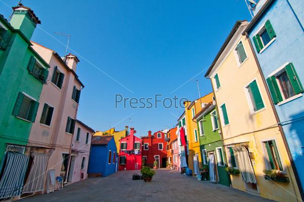 Остров Бурано. Венеция. Италия