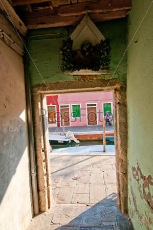 Фотография на тему Остров Бурано. Венеция. Италия