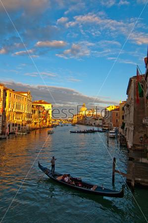Гранд-канал в Венеции, Италия