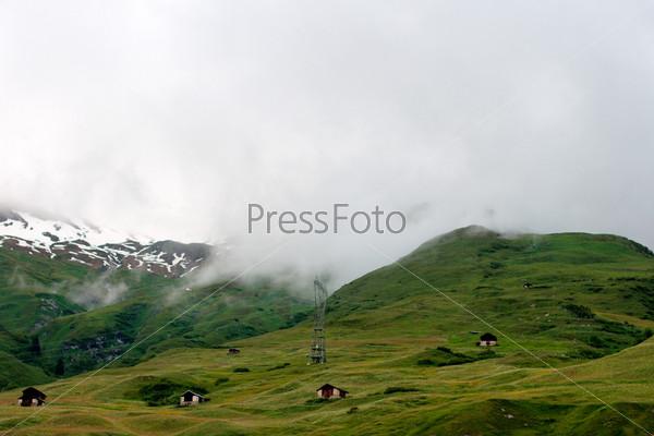 Фотография на тему Прекрасный вид в Швейцарских Альпах