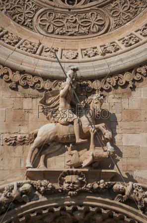 Фотография на тему Святой Георгий и змей