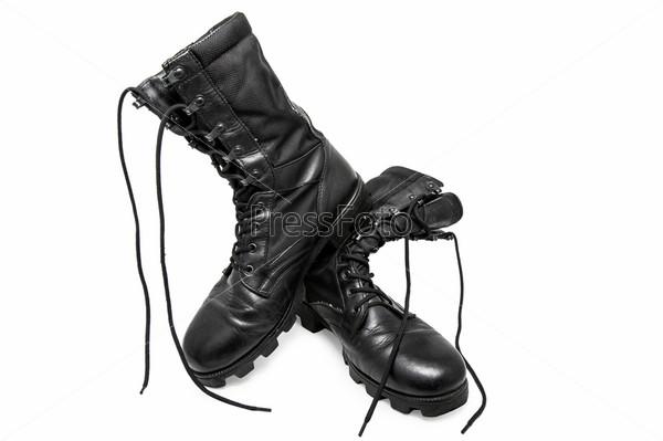 Фотография на тему Армейские ботинки
