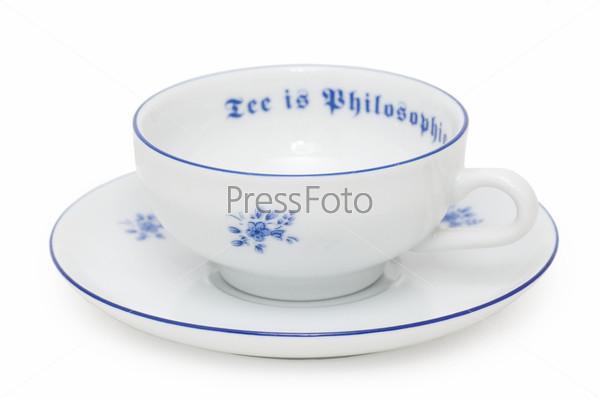 Фотография на тему Чайные чашка и блюдце