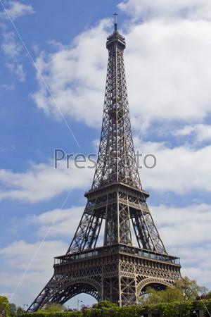 Фотография на тему Вид на Эйфелеву башню