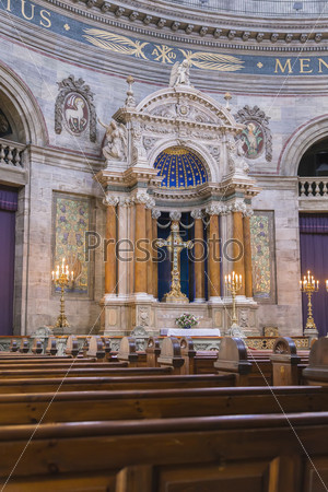 Алтарь церкви Фредерика
