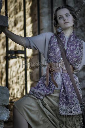 Фотография на тему Деревенская девушка