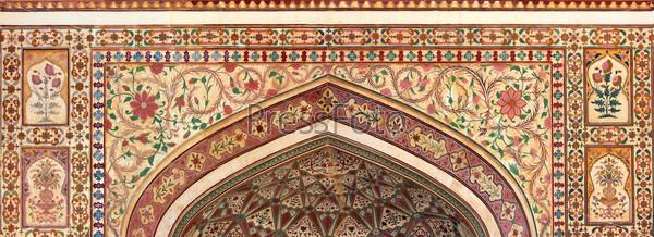 Фотография на тему Индийская орнамент, Джайпур, Индия