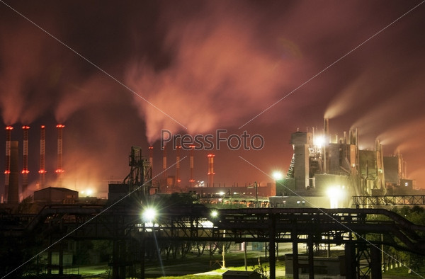 Фотография на тему Металлургический завод