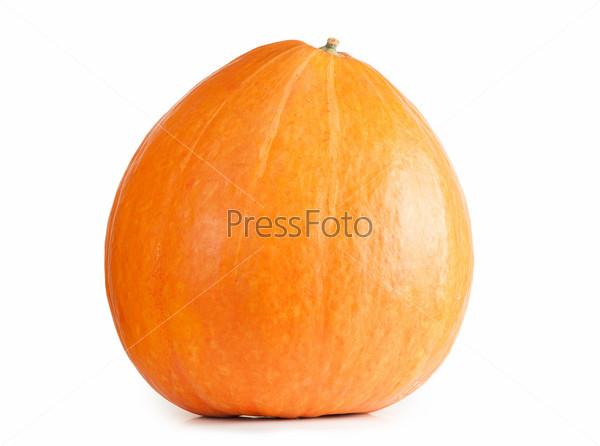 Свежая оранжевая тыква