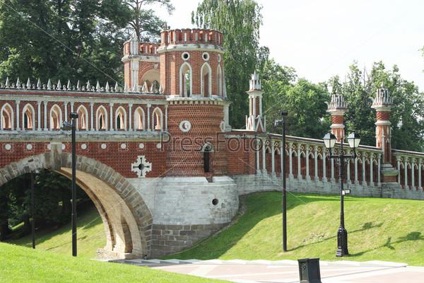 Фигурный мост в Царицыно. Москва. Фрагмент