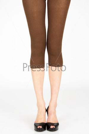Длинные стройные женские ноги