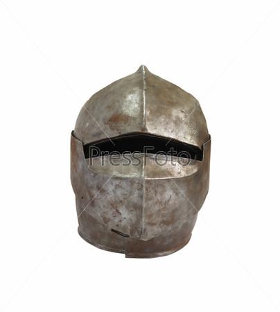 Фотография на тему Средневековый рыцарский шлем