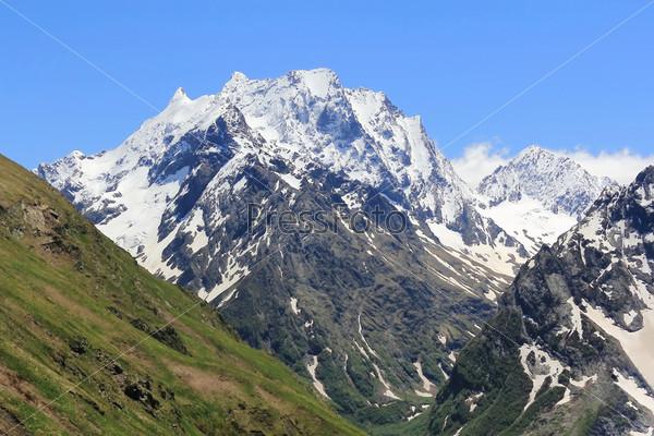 Кавказские горы в России