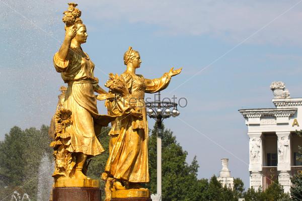 Фонтан дружбы Украины и России