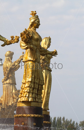 Фонтан дружбы народов, Казахстан