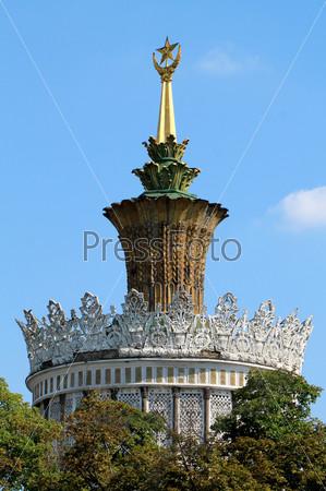 Фотография на тему Украинский павильон на выставке в Москве