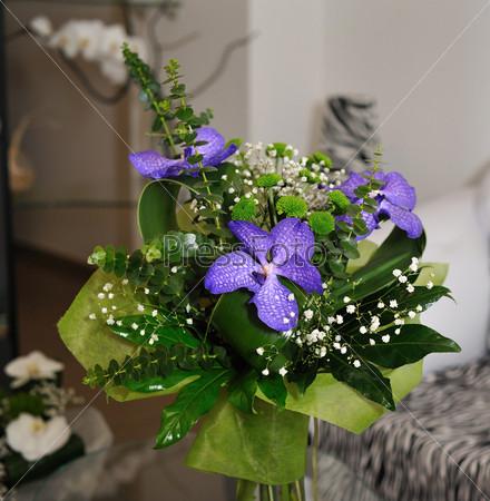 Фотография на тему Цветы в вазе