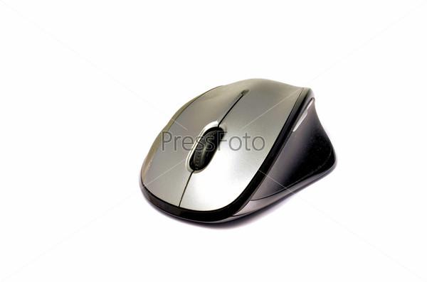 Фотография на тему Компьютерная мышь, изолировано