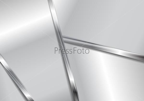 Абстрактный металлический современный фон