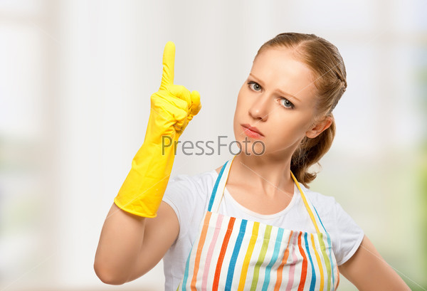 Сердитая домохозяйка