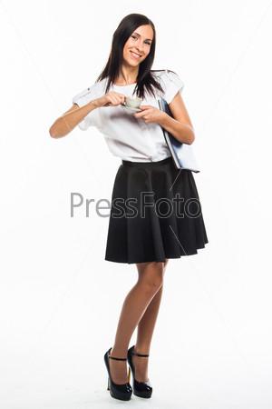 Фотография на тему Молодой красивый секретарь