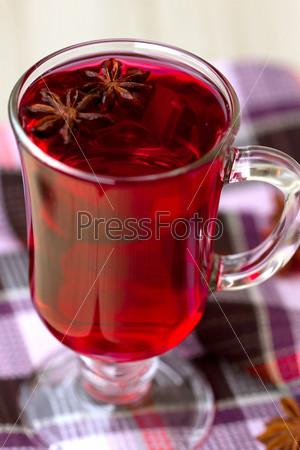 Фотография на тему Красный чай (каркаде)