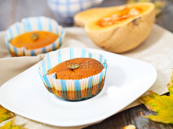 Фотография на тему Тыквенные булочки