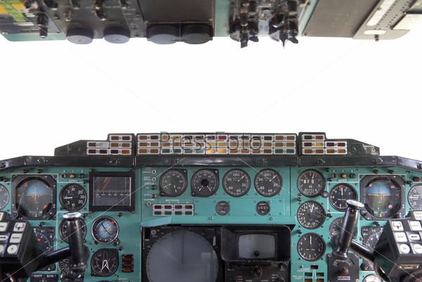 Кабина самолета Ту-144