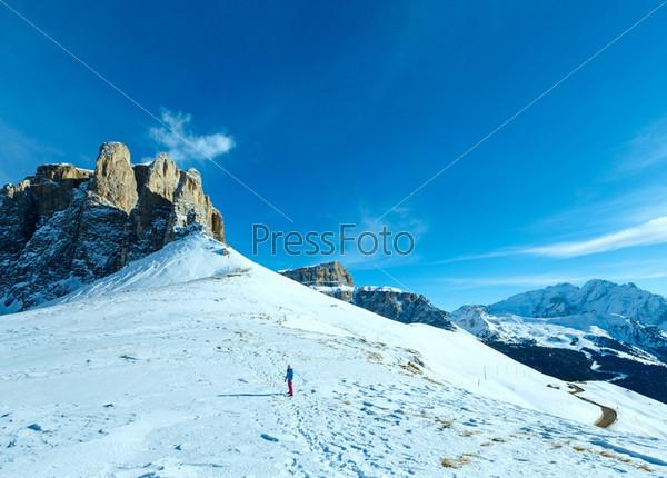 Красивые зимние горы