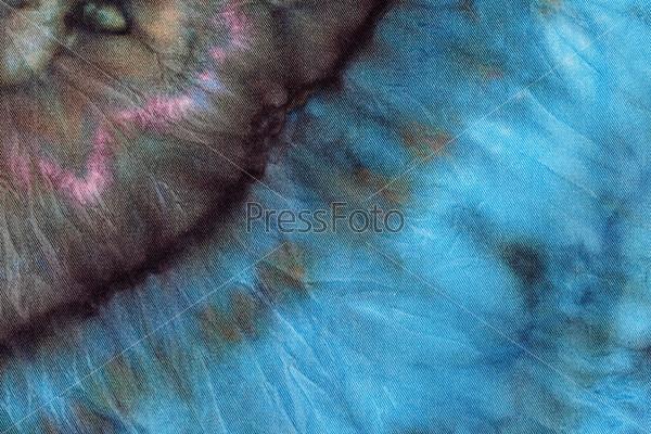 Абстрактный узор, холодная роспись, батик